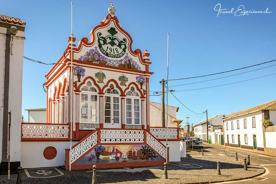 Terceira, Sao Seabastiao, Heiliggeisthaeuschen