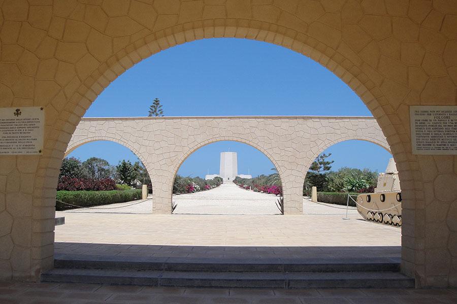 El Alamein, Soldatenfriedhof