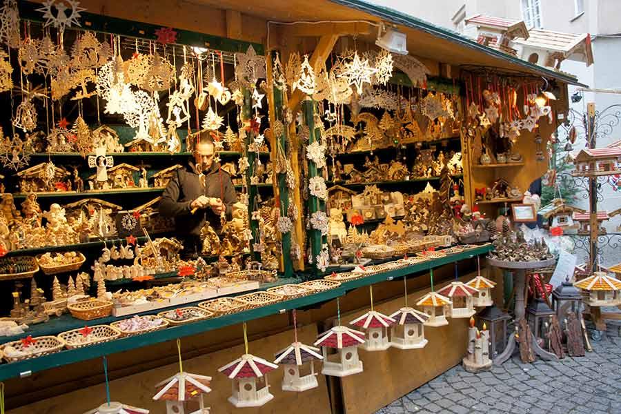 Salzburg, Stern Advent, Holzwaren