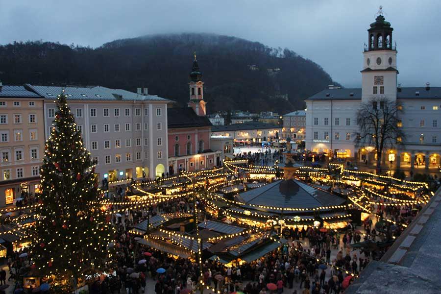 Salzburg, Weihnachtsmarkt, Christkindlmarkt,
