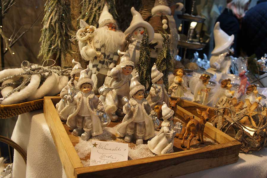 Salzburg, Christkindlmarkt, Weichnachtsdeko