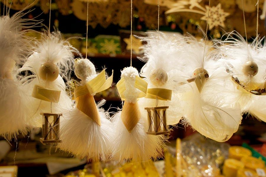 Salzburg, Weihnachtsmarkt, Engel