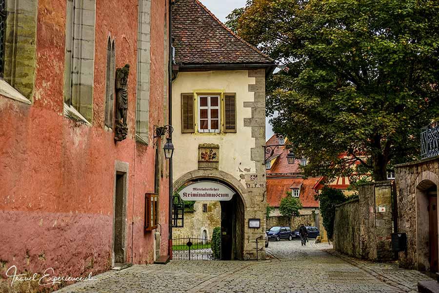 Rothenburg ob der Tauber, Kriminalmuseujm