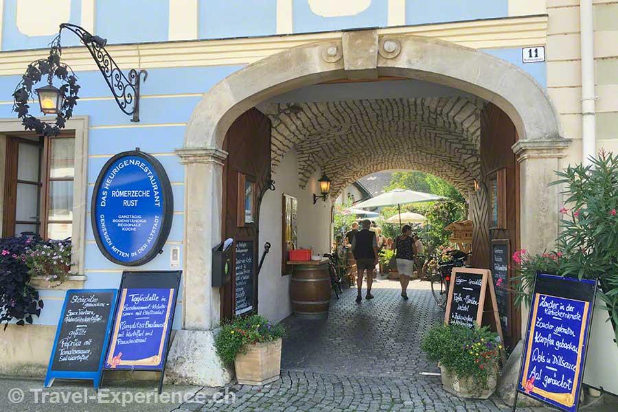 oesterreich, burgenland, neusiedler see, Rust, restaurant, hof