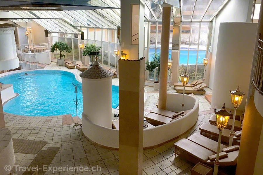 Österreich, Tirol, Achenkirch, Posthotel, Pool, Wasserwelten