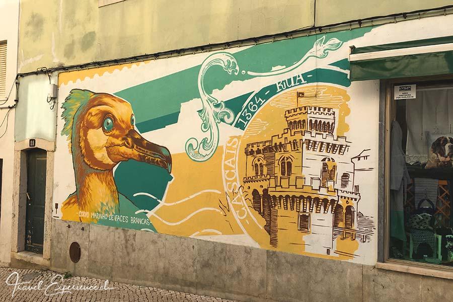 Streetart in Cascais, Portugal