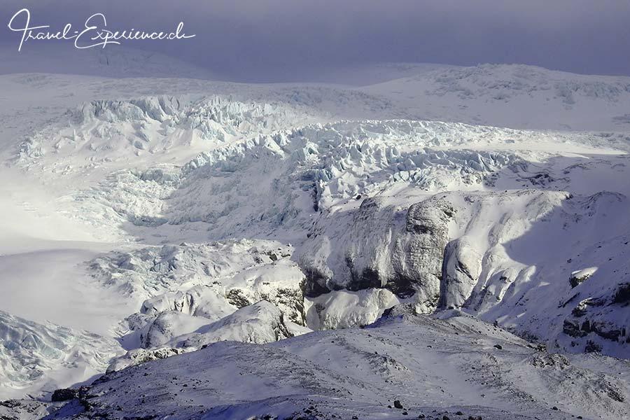 Island, Iceland, Winter, Suedkueste, Vatnajoekull, Gletscher