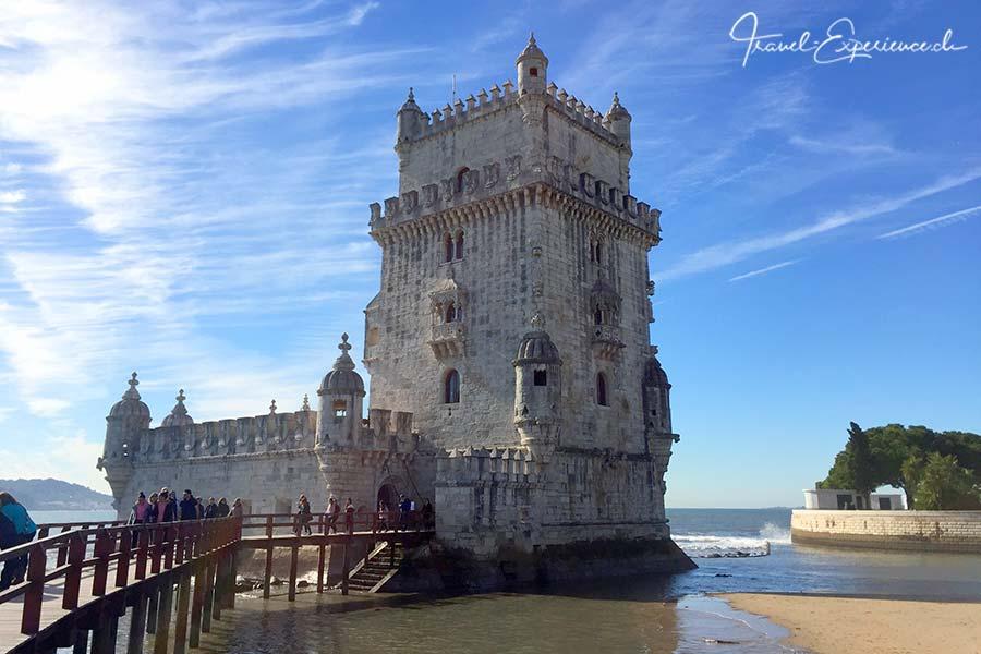 Der Torre de Belem in Belem, Portugal