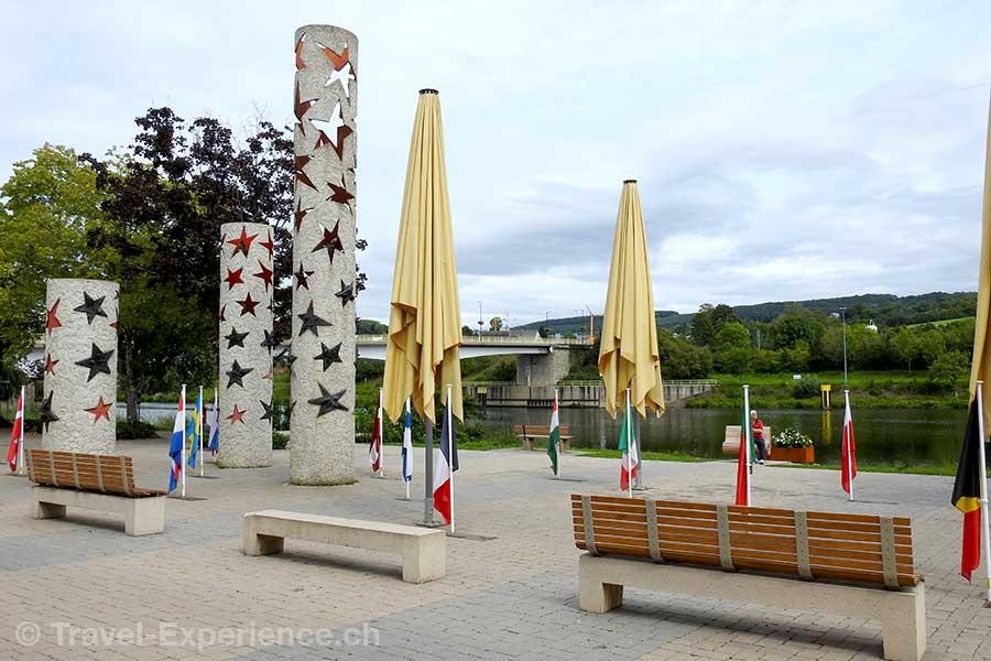 Luxemburg, Schengen, Denkmal