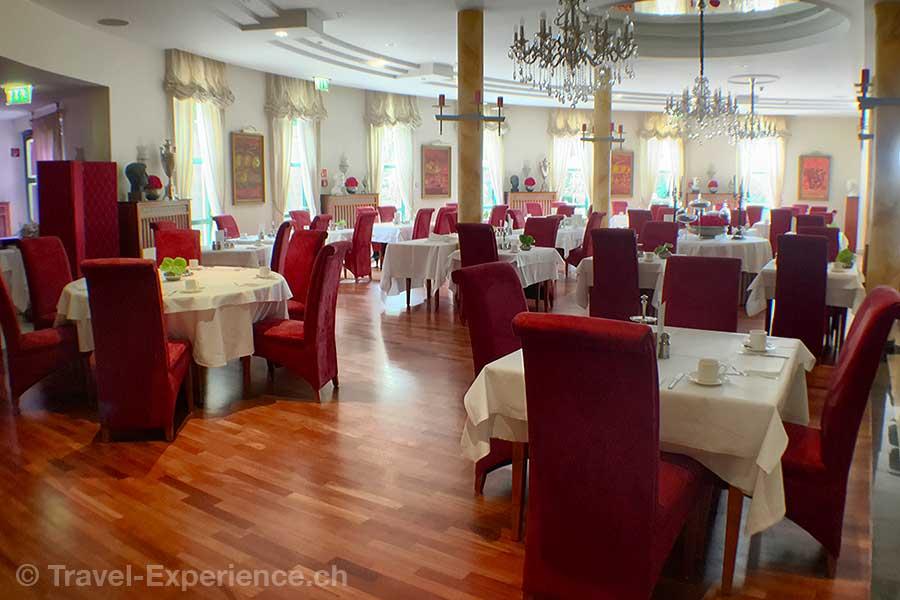 Deutschland, Saarland, Perl-Nennig, Victors Residenz-Hotel Schloss Berg, Restaurant Bacchus