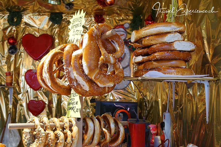 Advent, Flussfahrt, Metz, Weihnachtsmarkt, Brezel,