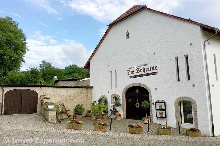 Deutschland, Saarland, Perl-Nennig, Victors Residenz-Hotel Schloss Berg, Restaurant Die Scheune