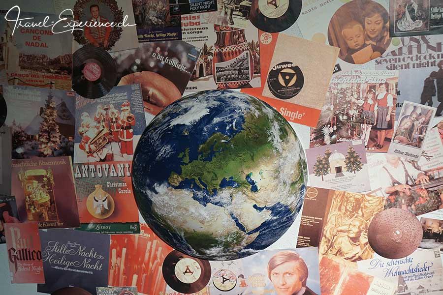 Stille Nacht Heilige Nacht, Weihnachtslied, Verbreitung, Widumspfiste, Museum, Schallplattensammlung