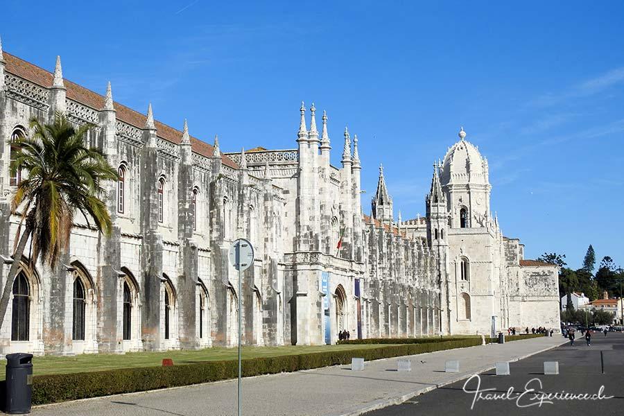 Mosteiro des Jeronimos und Museu de Marinha in Belem, Portugal