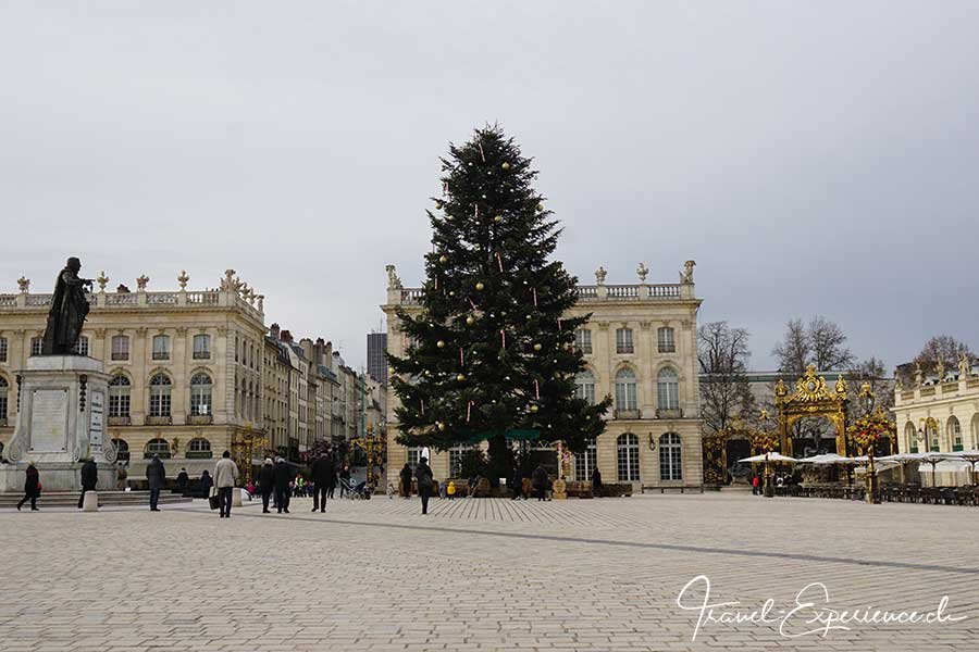Advent, Flussfahrt, Nancy, Place Stanislas