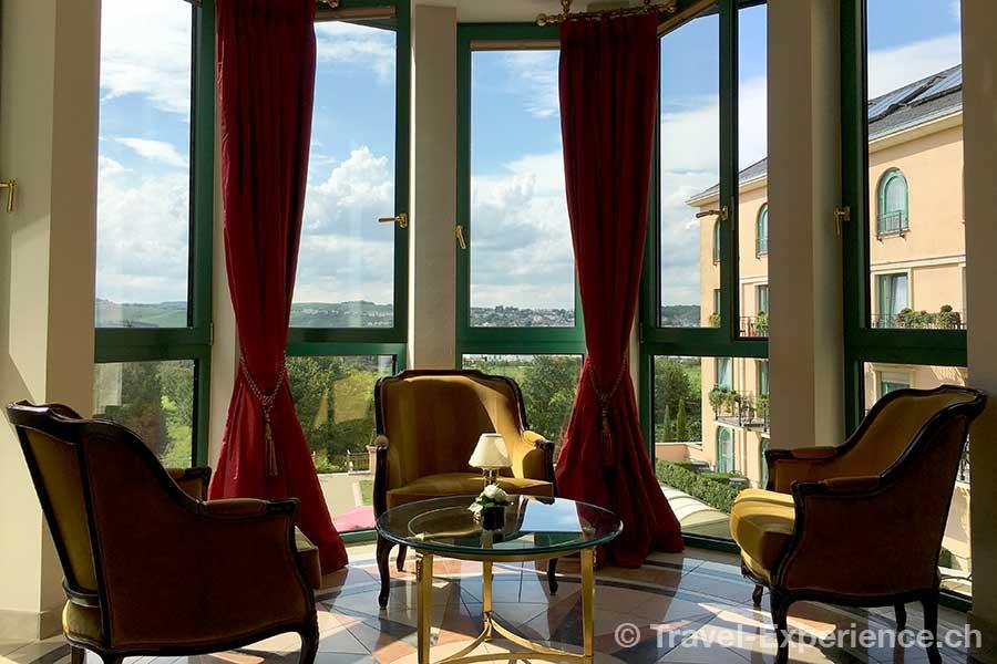 Deutschland, Saarland, Perl-Nennig, Victors Residenz-Hotel Schloss Berg, roemische Villa, Bar