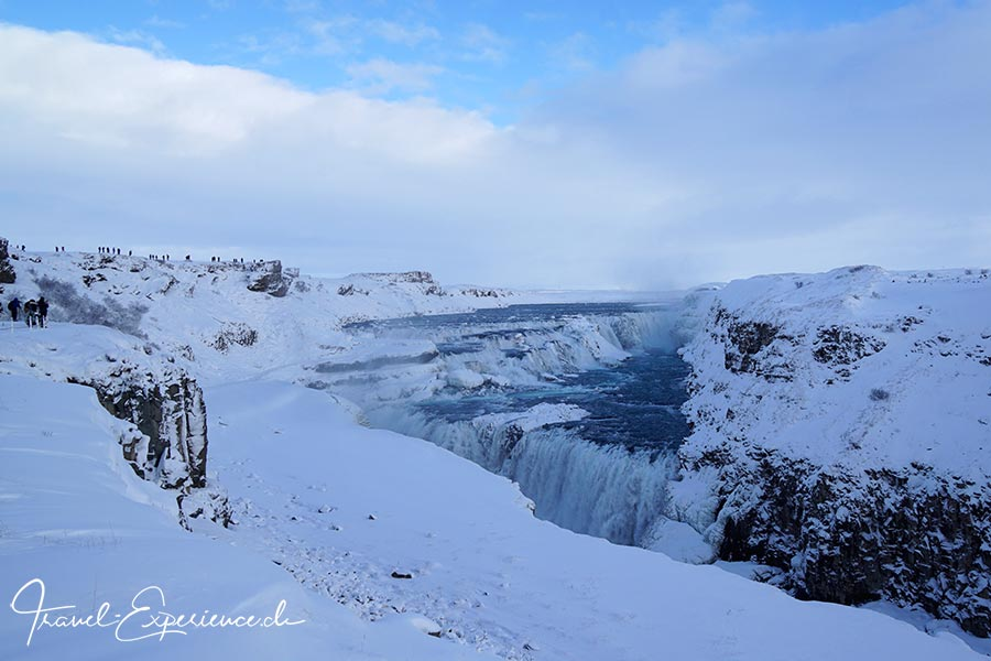 Island, Iceland, Winter, Golden Circle, Gulfoss, Wasserfall