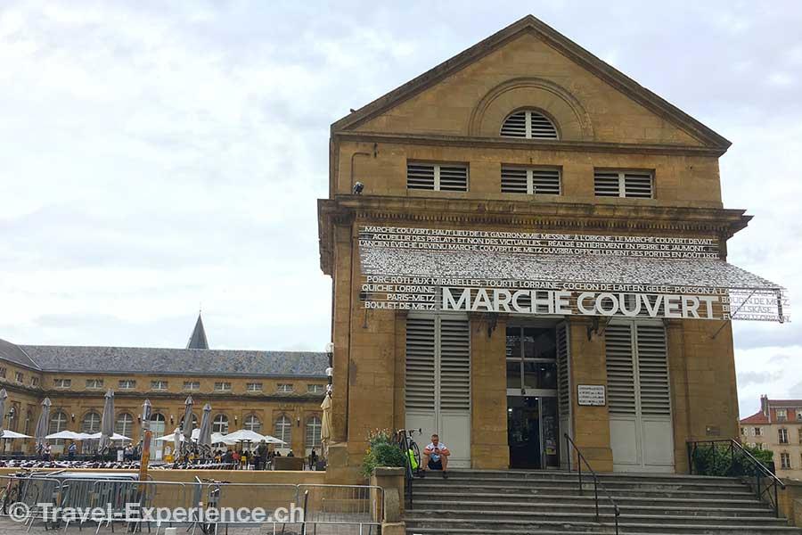 Frankreich, Metz, gedeckter Markt, Marche Couvert