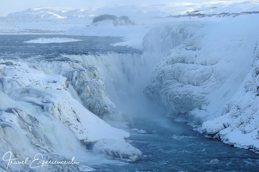 Island, Iceland, Winter, Golden Circle, Gulfoss, Wasserfall,
