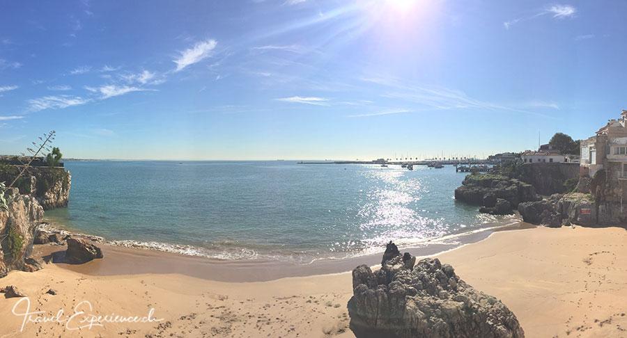 praia de raihnha in cascais, portugal
