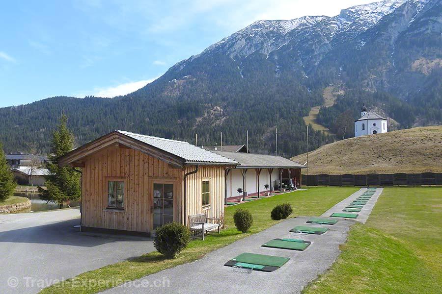 Österreich, Tirol, Achenkirch, Posthotel, Alpingolfplatz, Drinving Range