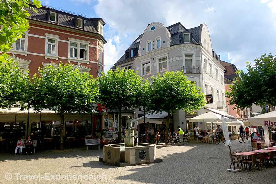 Deutschland, Rheinland-Pfalz, Idar-Oberstein, Deutsche Edelsteinstrasse, Marktplatz
