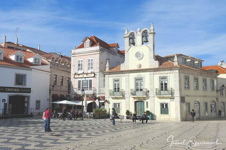 Das Rathaus von Cascais, Portugal