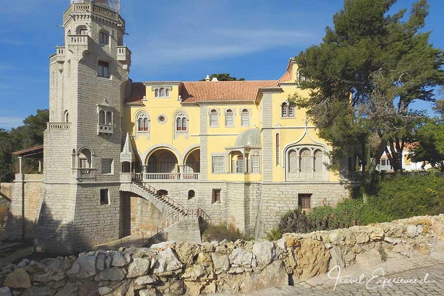 Das Museu Condes de Castro Guimaraes in Cascais, Portugal