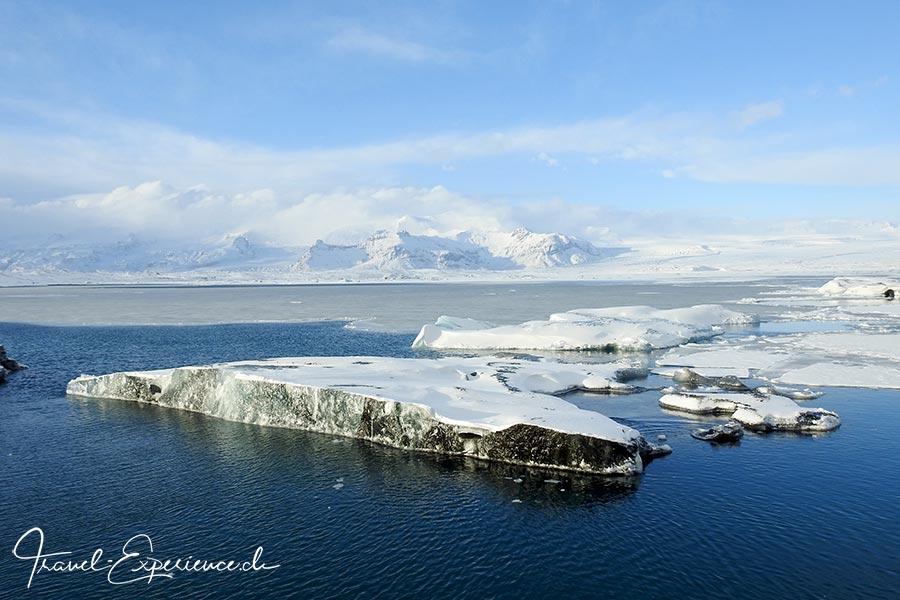 Island, Iceland, Winter, Suedkueste, Glacier Lagoon Jökulsarlon