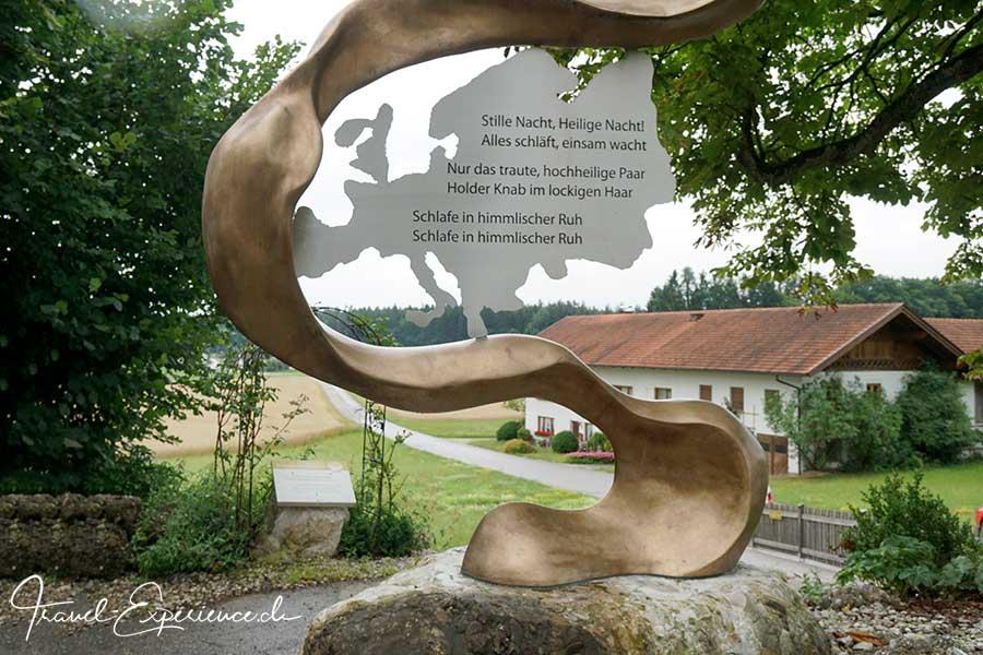 Franz Xaver Gruber, Stille Nacht Heilige Nacht, Friedensweg, Hubert Floerl,