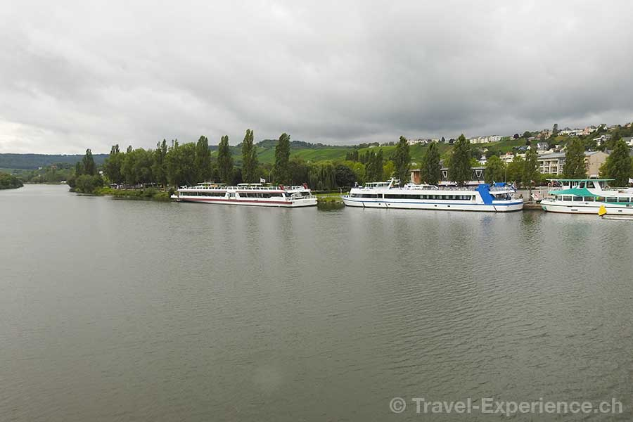 Luxemburg, Remich, Mosel, Weingebiet, Schiffe