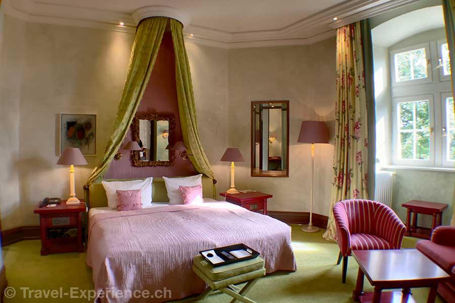 Deutschland, Saarland, Perl-Nennig, Victors Residenz-Hotel Schloss Berg, Zimmer im Schloss