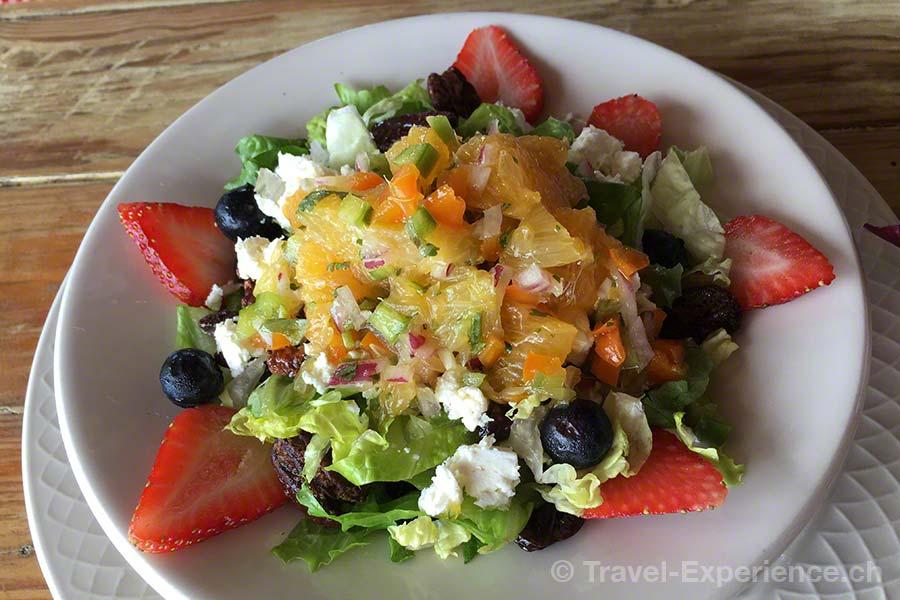 Karibik, Aruba, Beachbar, Westdeck, Salat