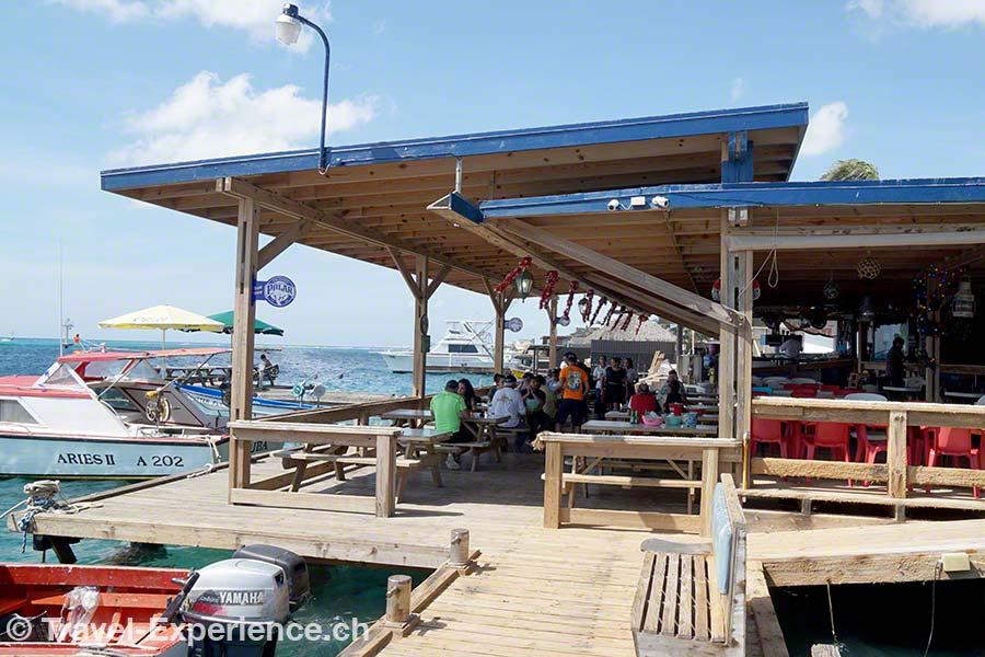Karibik, Aruba, Beachbar, Zeerover, Fischerei, Restaurant