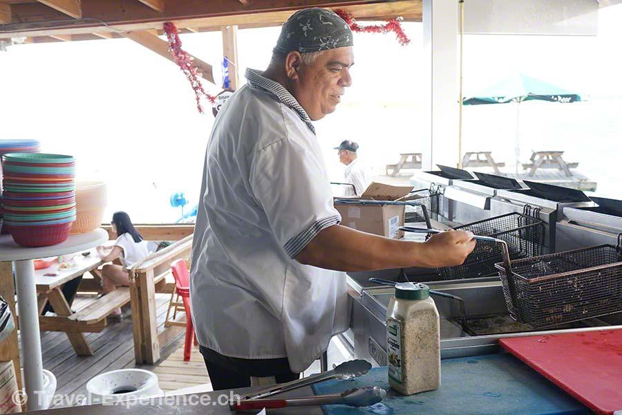 Karibik, Aruba, Beachbar, Zeerover, Küche, Restaurant