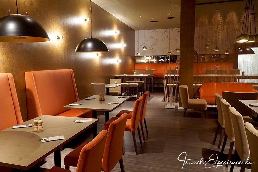 a-ja City-Resort Zuerich, Restaurant, goldener Saal