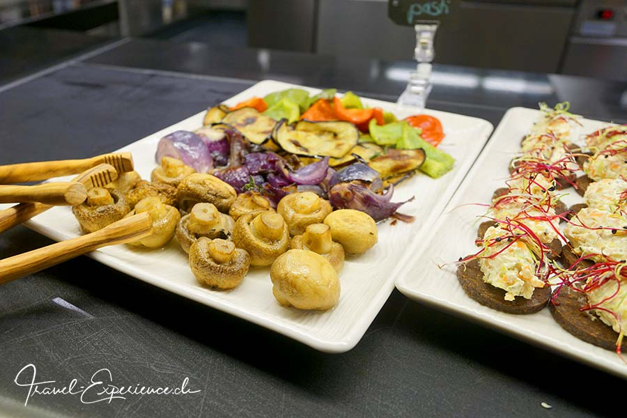 a-ja City-Resort Zuerich, Restaurant, Deli, Vorspeisen