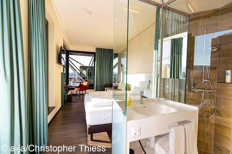 a-ja City-Resort Zuerich, deluxe zimmer