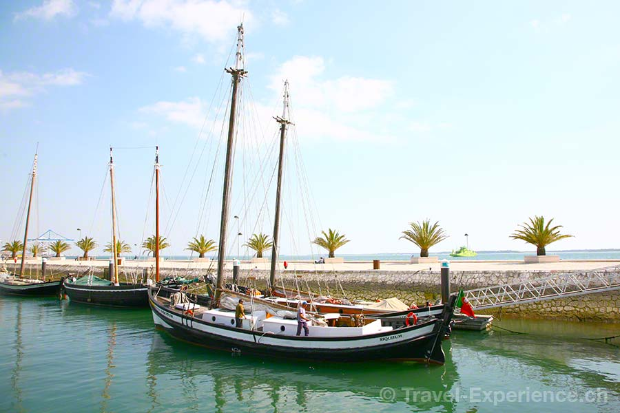 Portugal, Alentejo, Setubal, Hafen Salzkahn