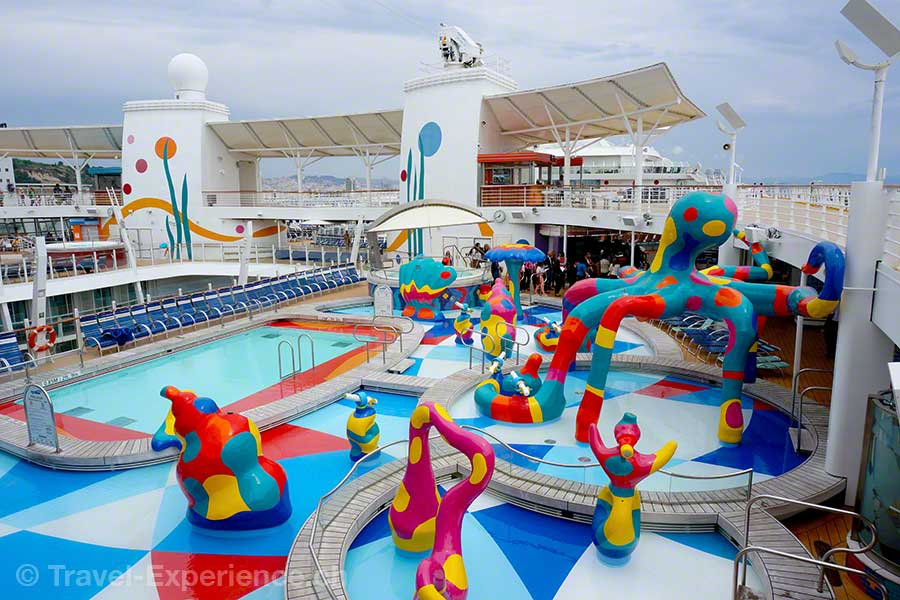 Allure of the Seas, H2O-Zone, Kinder