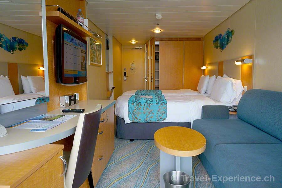 Allure of the Seas, Royal Caribbean, Kabine