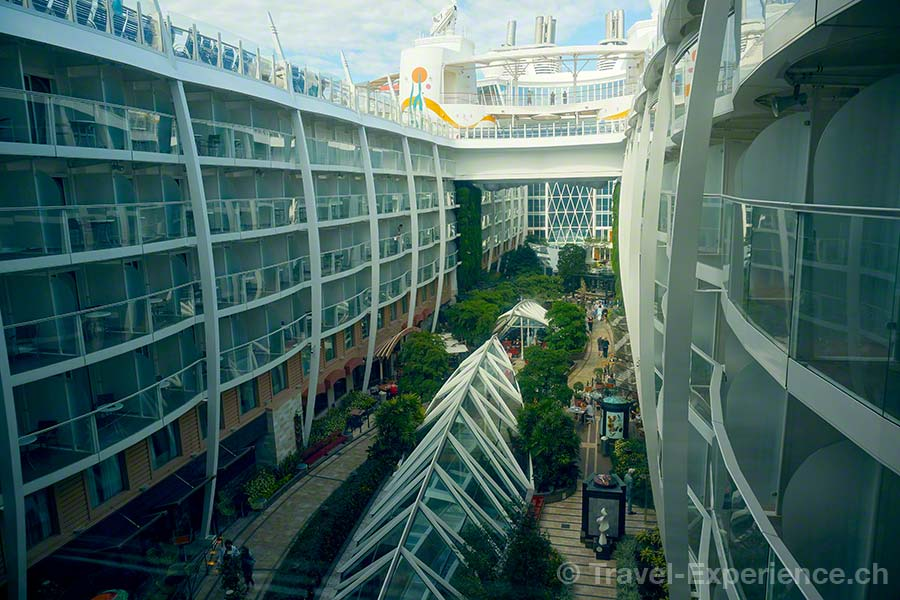 Allure of the Seas, Royal Caribbean, Central Park