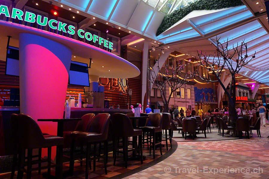 Allure of the Seas, Royal Caribbean, Starbucks