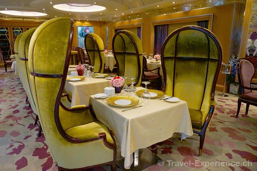 Allure of the Seas, 150 Central Park, Restaurant