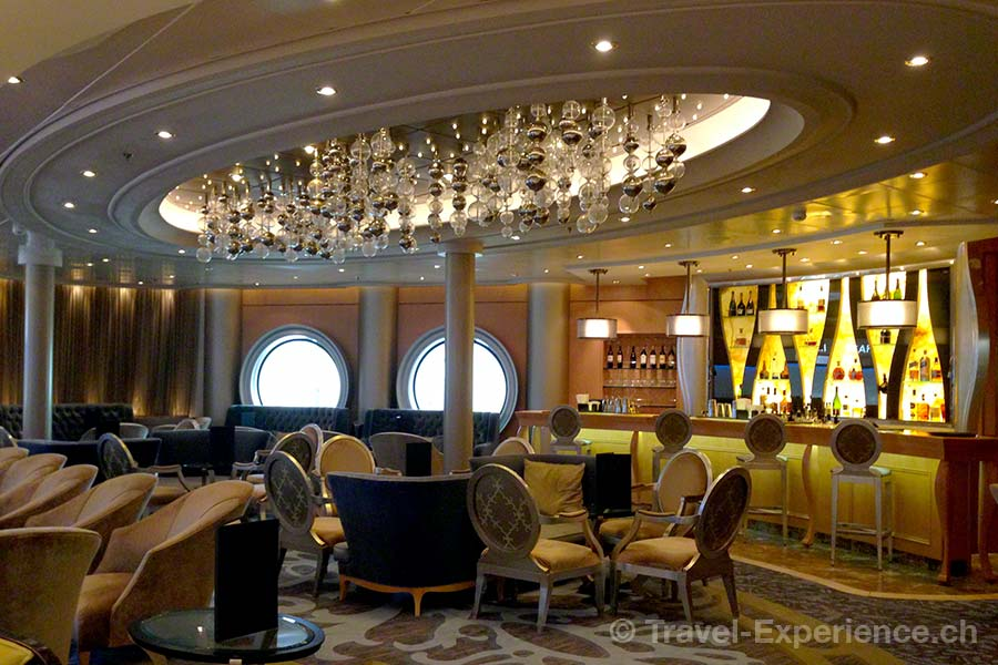Allure of the Seas, Champagne Bar, Royal Promenade