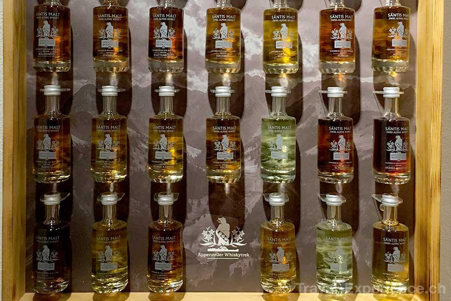 Appenzell, Brauerei Locher, Saentis Malt, Whisky