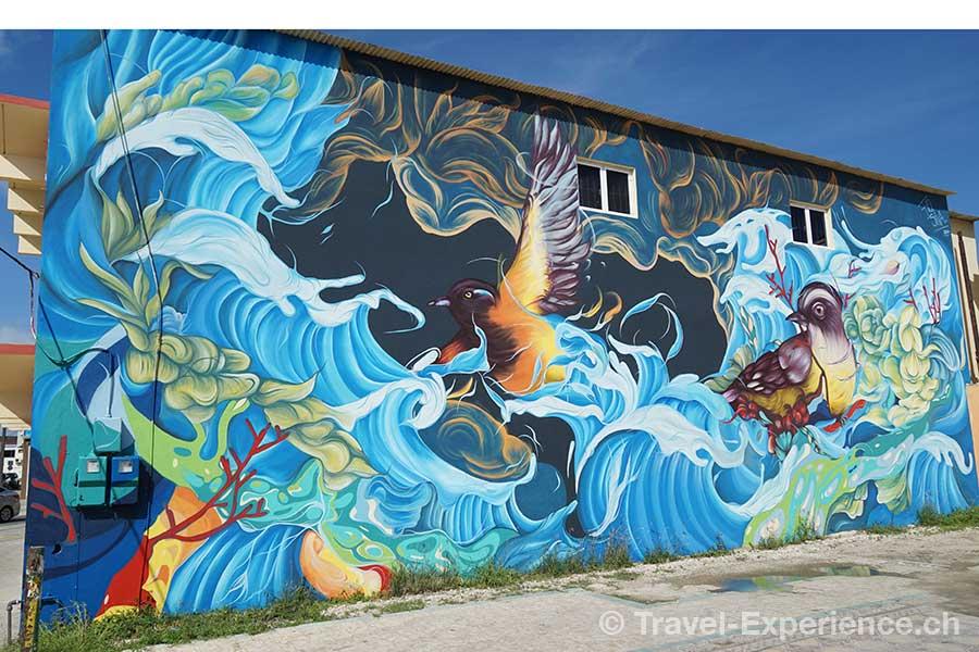 Karibik, Aruba, San Nicolas, Street Art