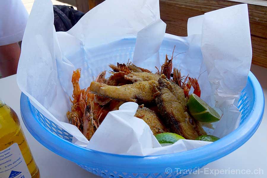 Karibik, Aruba, Restaurant Zeerover, fisch