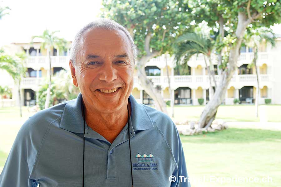 Karibik, Aruba, Ewald Biemans, owner, bucuti tara beach resort
