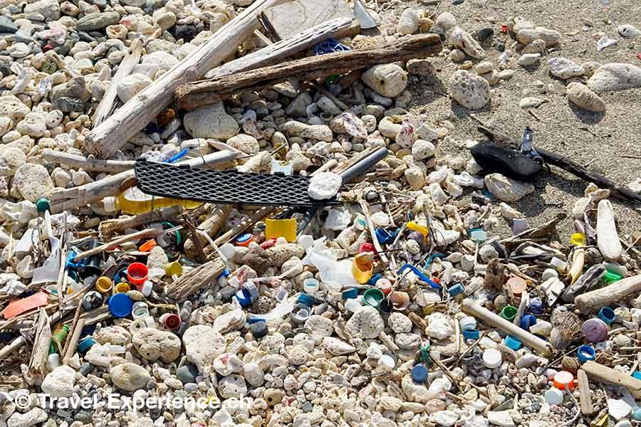 Karibik, Aruba, Umweltschutz, oekologie, green, plastik am strand